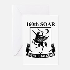 160th SOAR (2) Greeting Cards (Pk of 10)