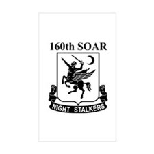 160th SOAR (2) Rectangle Decal