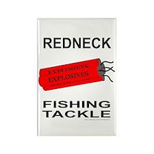 REDNECK FISHING TACKLE Rectangle Magnet