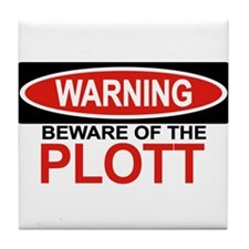 PLOTT Tile Coaster