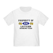 Latvian T
