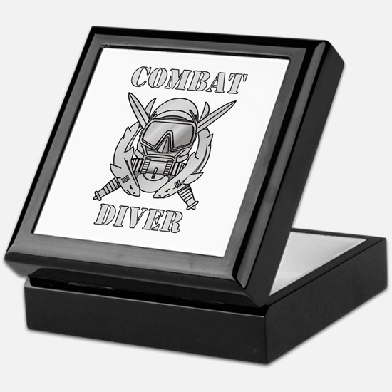 Combat Diver (1) Keepsake Box