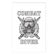 Combat Diver (1) Postcards (Package of 8)