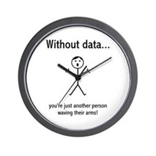 Without Data... Wall Clock