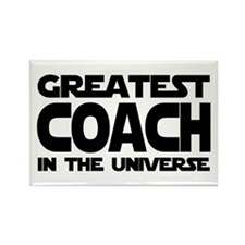 Greatest Coach Rectangle Magnet