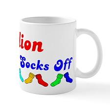 Dillion Rocks Socks (B) Mug