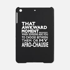 Awkward Afro-chausie Cat Designs iPad Mini Case