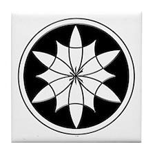 Seed of Life Crop Circle Desi Tile Coaster