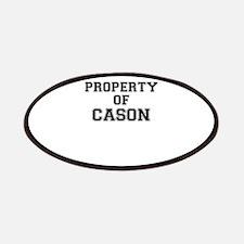 Property of CASON Patch