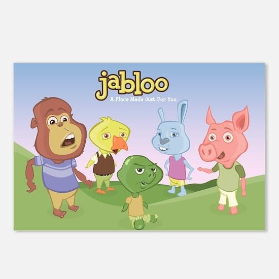 Unique Jabloo Postcards (Package of 8)