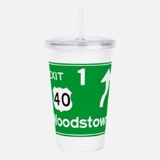 NJTP Logo-free Exit 1 Acrylic Double-wall Tumbler