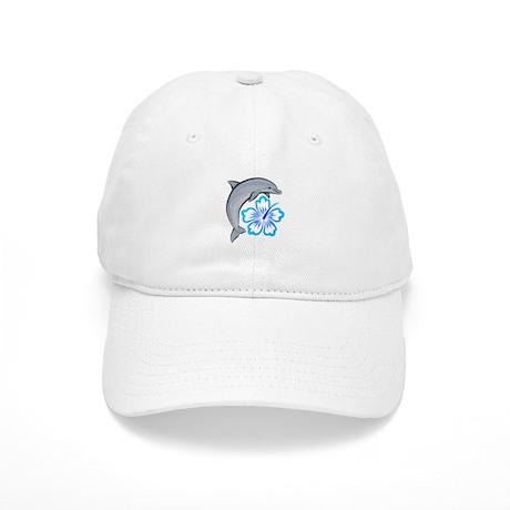 Dolphin Hibiscus Blue Cap