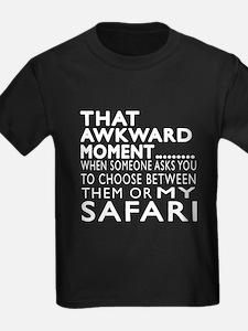 Awkward Safari Cat Designs T