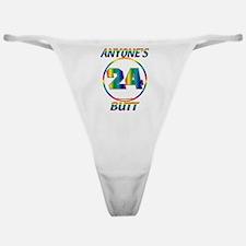 #0011 Jeff Gordon 24 Anyone's Butt Classic Thong