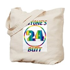 #0011 Jeff Gordon 24 Anyone's Butt Tote Bag