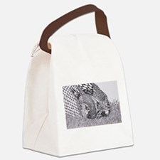 Kaleidoscope Bunnies Canvas Lunch Bag