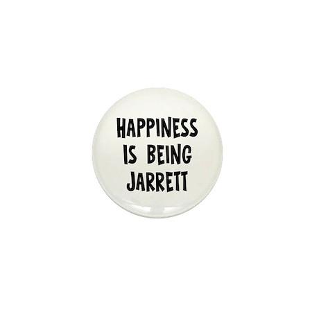 Happiness is being Jarrett Mini Button