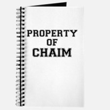 Property of CHAIM Journal