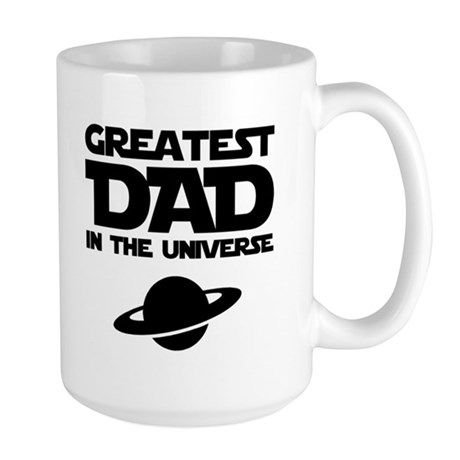 Greatest Dad Large Mug