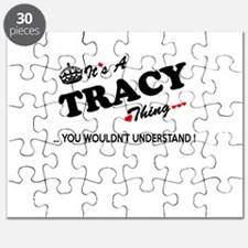 TRACY thing, you wouldn't understand Puzzle