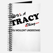TRACY thing, you wouldn't understand Journal