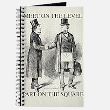 Masons meet on the level Journal