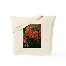 Pink Orange Snapdragons Tote Bag
