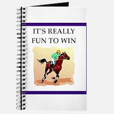 Horse racing joke Journal