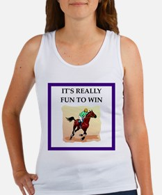 Horse racing joke Tank Top