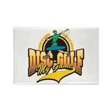 Disc Golf My Game Rectangle Magnet (100 pack)