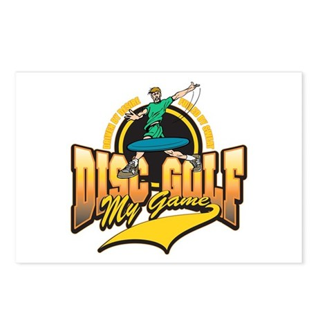 Disc Golf My Game Postcards (Package of 8)