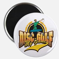 """Disc Golf My Game 2.25"""" Magnet (100 pack)"""