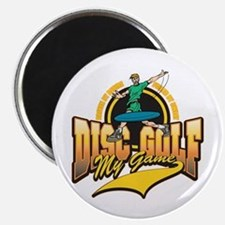 """Disc Golf My Game 2.25"""" Magnet (10 pack)"""