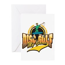 Disc Golf My Game Greeting Cards (Pk of 20)