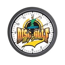 Disc Golf My Game Wall Clock