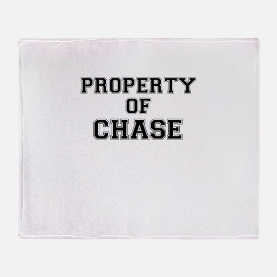 Property of CHASE Throw Blanket