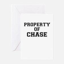 Property of CHASE Greeting Cards