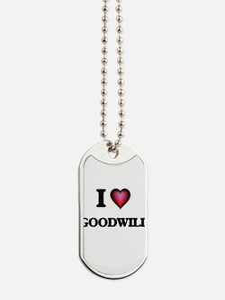 I love Goodwill Dog Tags