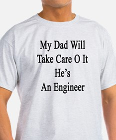 Funny Dad electrical engineer T-Shirt