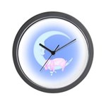 Rabbits/Bunnies Wall Clock