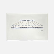 Geneticist Rectangle Magnet