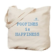 POOFINES is HAPPINESS Tote Bag