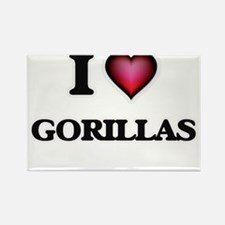 I love Gorillas Magnets