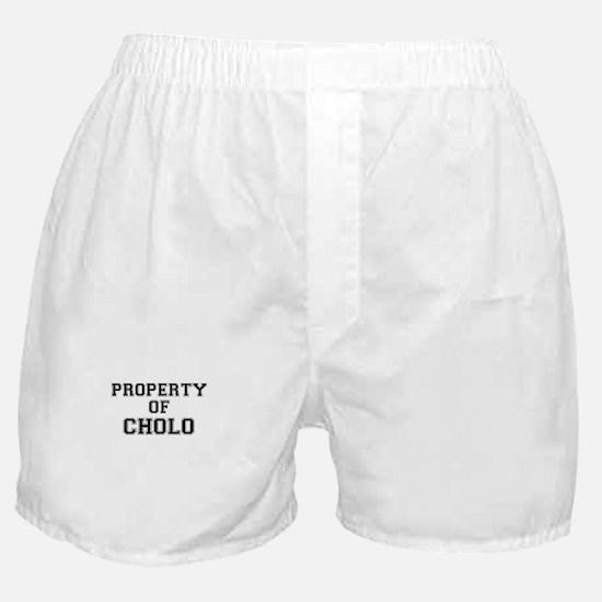 Property of CHOLO Boxer Shorts