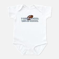 Detroit Football Grandpa Infant Bodysuit