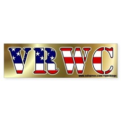 Vast Right Wing Conspiracy Bumper Sticker