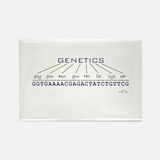 Genetics Rectangle Magnet