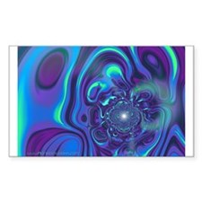 Ultraviolet Visions Rectangle Decal