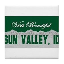 Sun Valley, Idaho Tile Coaster