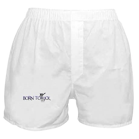 BORN TO KICK Boxer Shorts